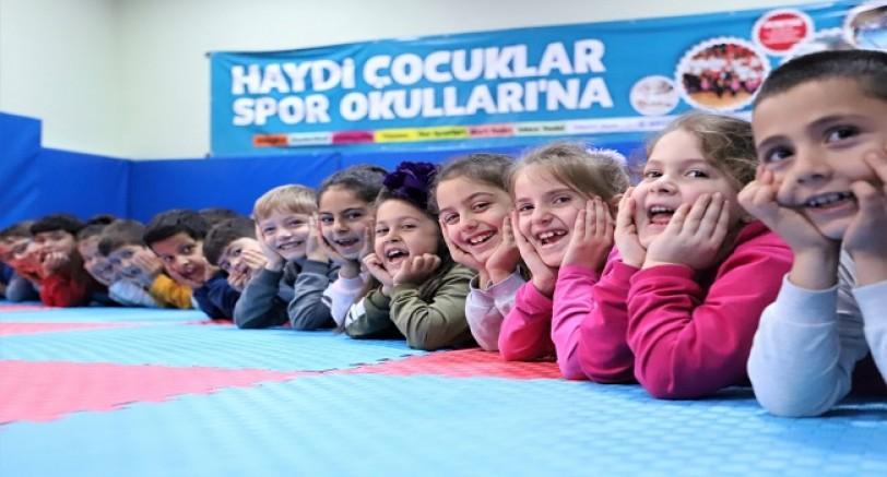 12 Bin Çocuğa Jimnastik Eğitimi