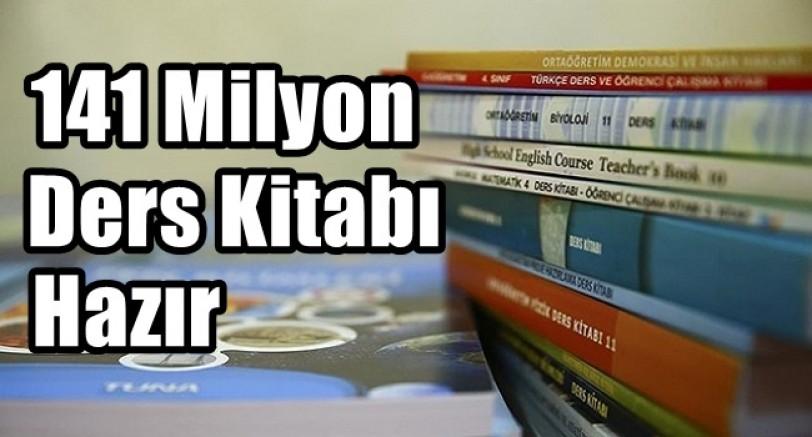 141 Milyon Ders Kitabı Hazır