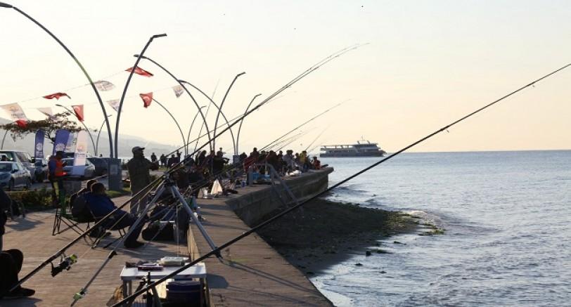 3. Uluslararası Balık Tutma Yarışması Tamamlandı