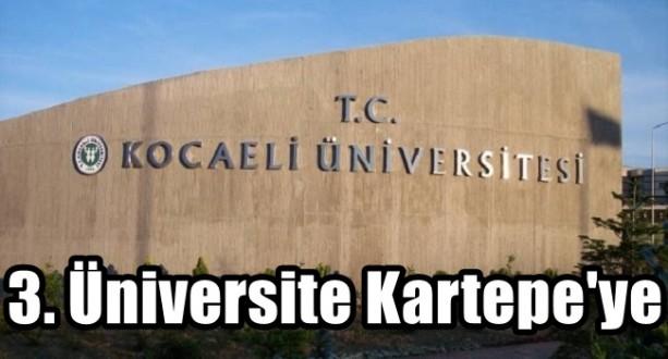 3. Üniversite Kartepe'ye
