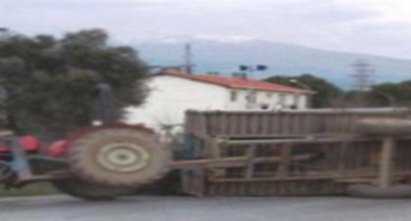 3 Yaşındaki Miran Traktörün Altında Kaldı