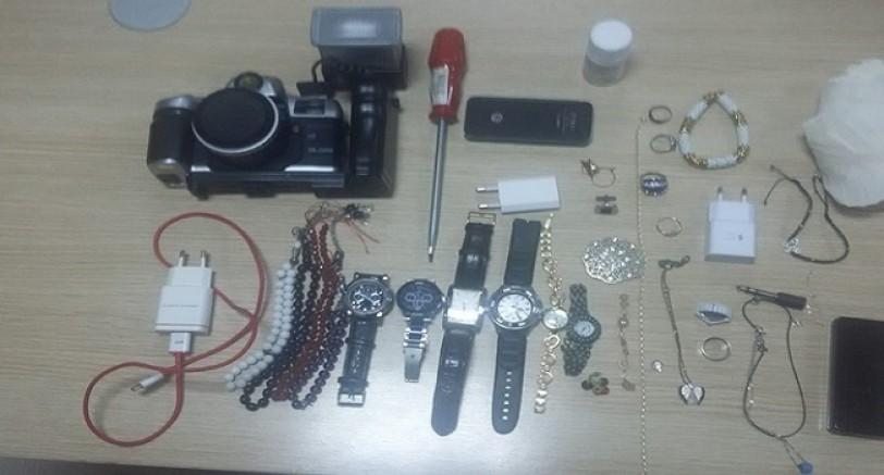 4 Evden 150 Bin Tl Çalan Hırsız Tutuklandı