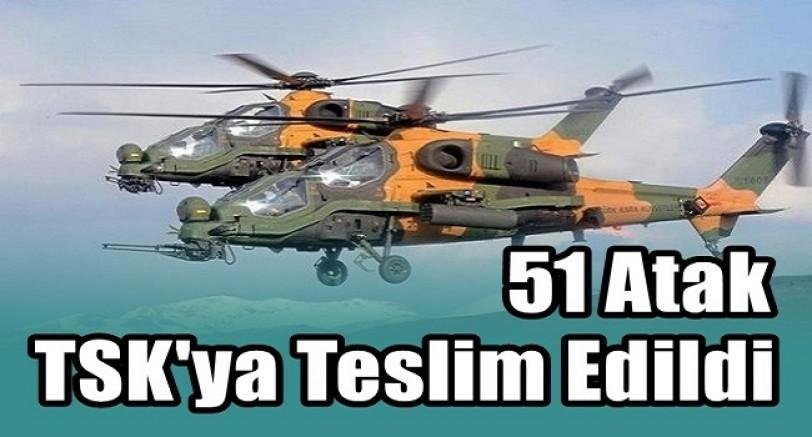 51. Atak Helikopter TSK'ya Teslim Edildi.