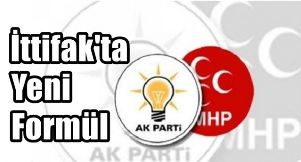 Ak Parti MHP İttifakı Şekilleniyor