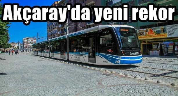 Akçaray'da Yeni Rekor