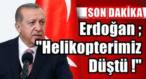 Atak Tipi Helikopterimiz Düşürüldü