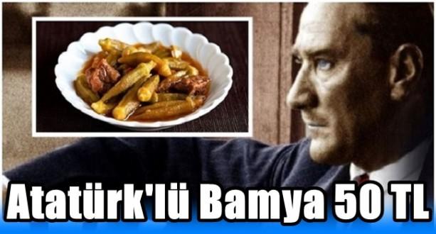 Atatüklü Bamya 50 TL