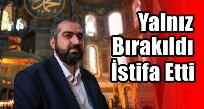 Ayasofya İmamı Mehmet Boynukalın İstifa Etti
