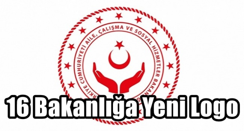 Bakanlıklara 16 Yıldızlı Logo
