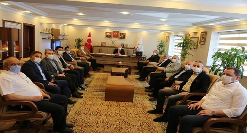 Başkan Bıyık CHP Gurubunu Bilgilendirdi
