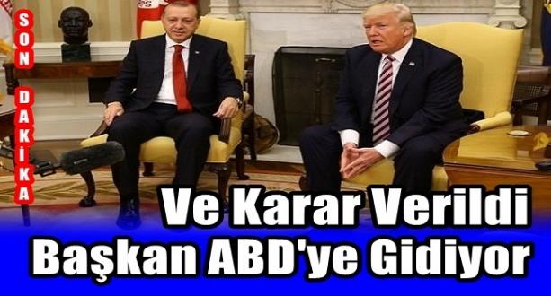 Başkan Erdoğan 13 Kasım'da ABD'ye Gidiyor