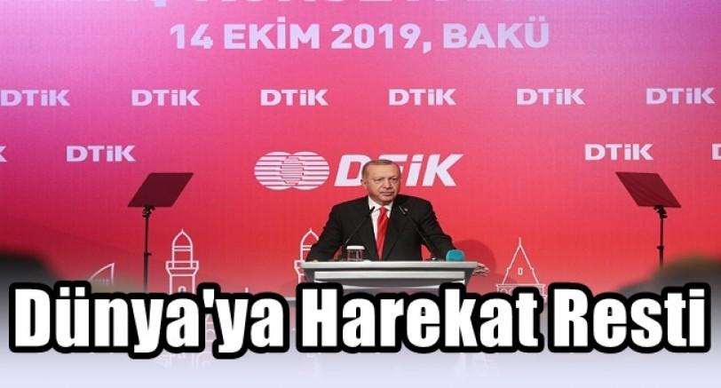 Başkan Erdoğan'dan Dünya'ya Harekat Resti