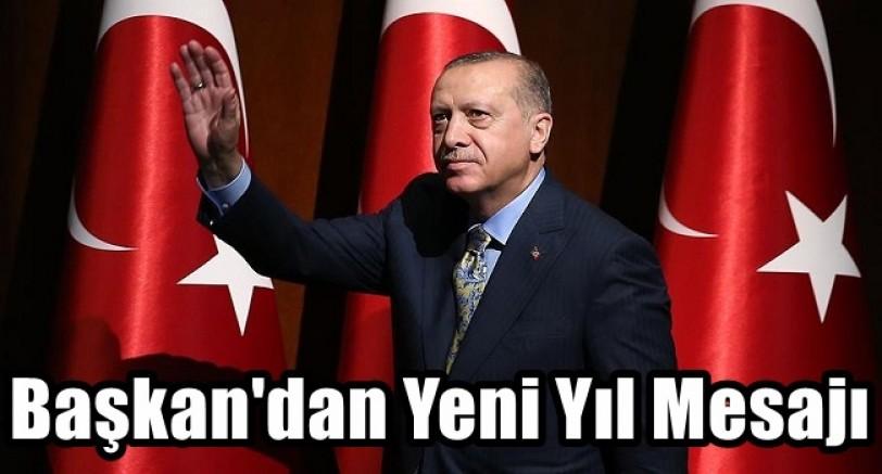 Başkan Erdoğan'dan Yeni Yıl Mesajı
