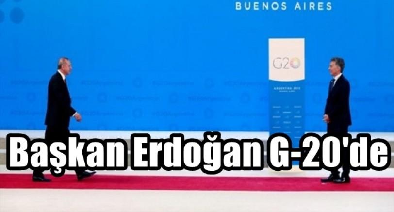 Başkan Erdoğan G-20'de