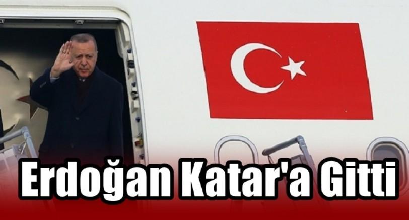 Başkan Erdoğan Katar'a Gitti