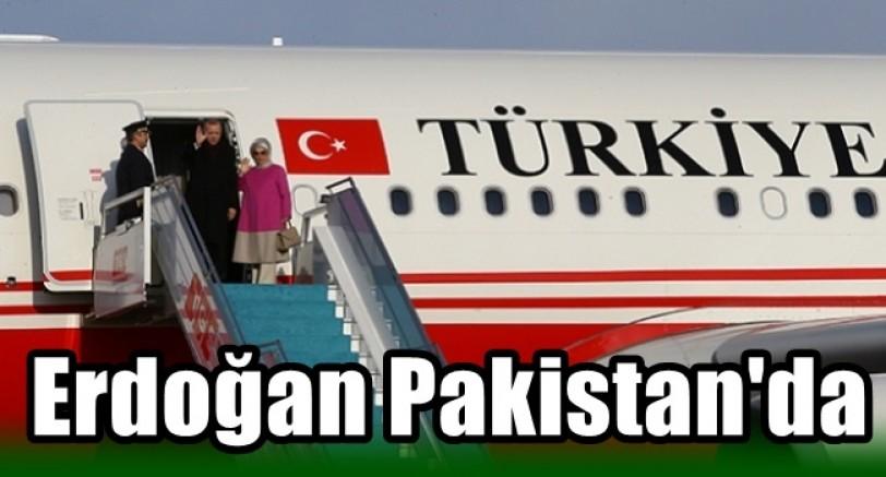 Başkan Erdoğan Pakistan'a Gitti