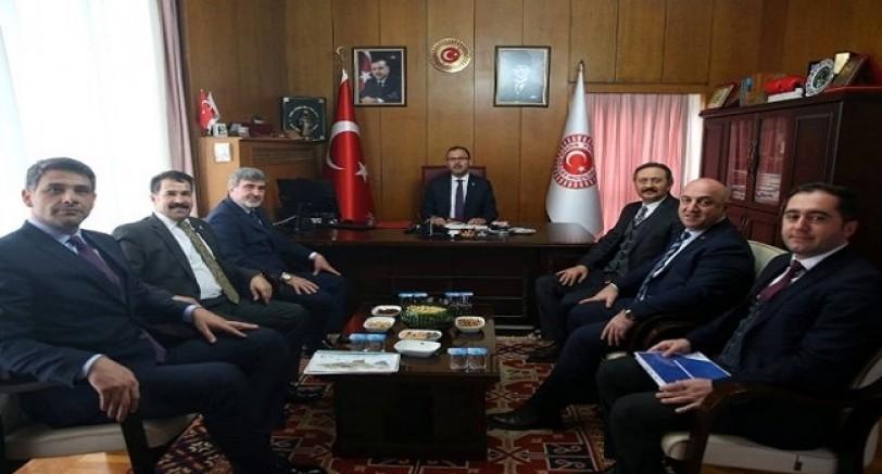 Başkan Kocaman Ankara'da