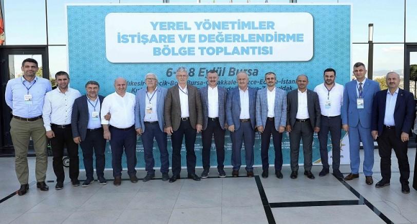 Başkanlar İstişare ve Değerlendirme Toplantısına Katıldı