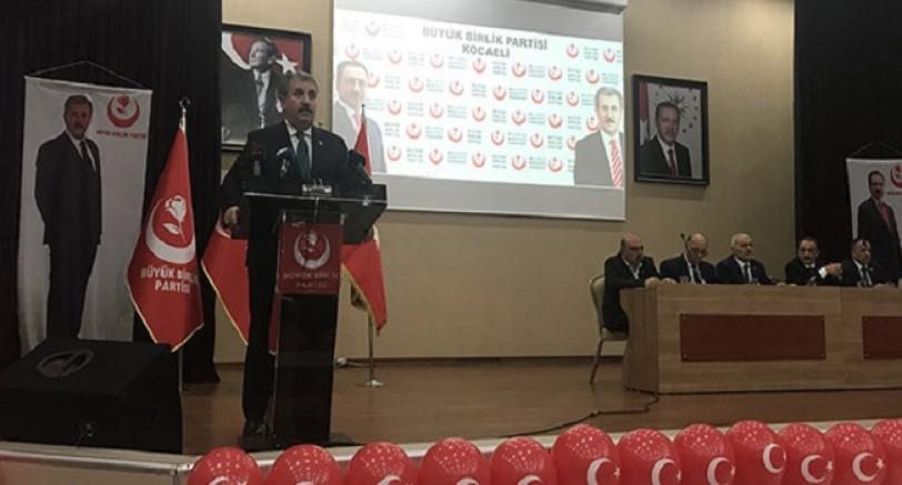 BBP Genel Başkanı Destici Kocaeli'de Konuştu