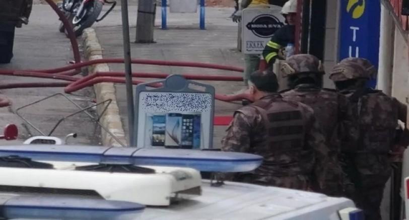 Benzin Bidonu İle Berberi Bastı