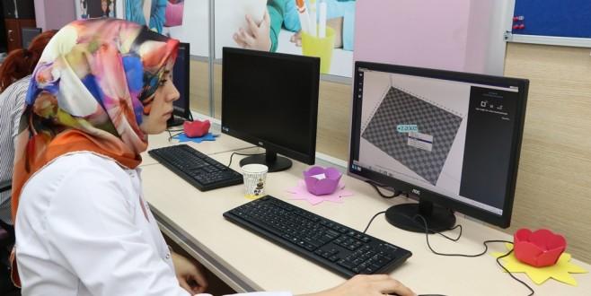Bilgievlerinde 3D Eğitimi