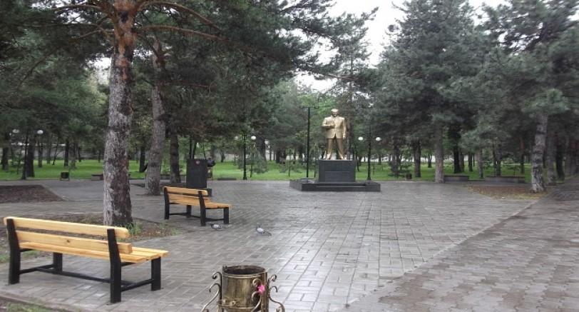 Bişkek Atatürk Parkı Yenileniyor