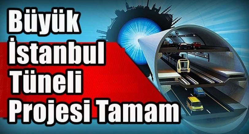 Büyük İstanbul Tüneli Prajesi Son Aşamada