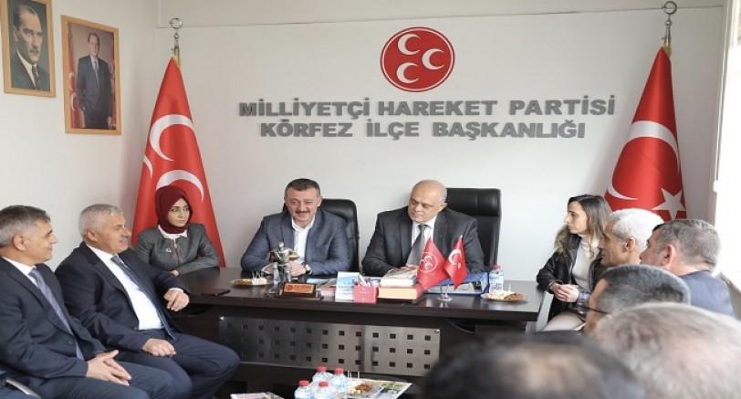 Büyükakın MHP İlçe'de Müjde Verdi