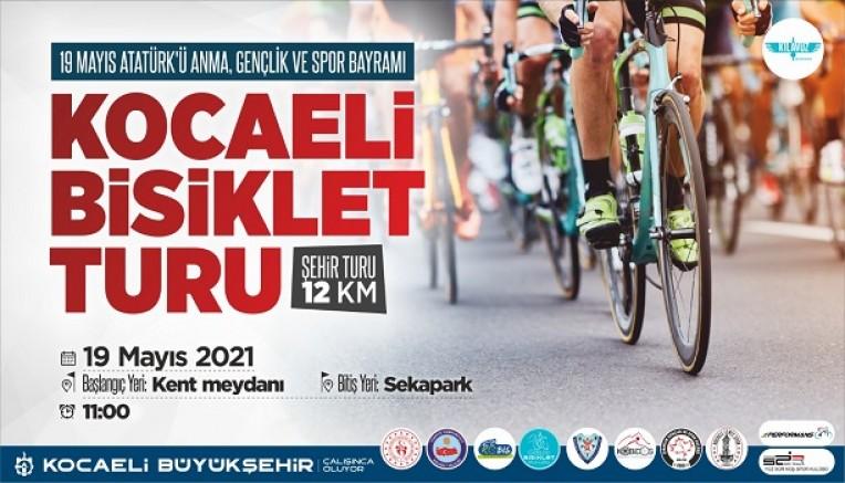 Büyükşehir'den 19 Mayıs Bisiklet Turu