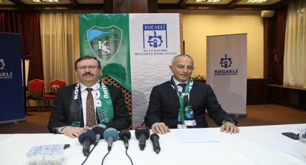 Büyükşehir'den Kocaelispor'a 4 Milyon TL Destek