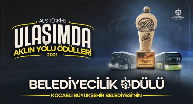 Büyükşehir'e Belediyecilik Ödülü