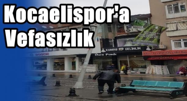 CHP İzmit'den Kocaelispor'a Büyük Vefasızlık