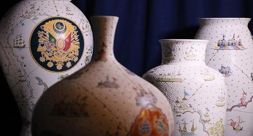 Çini Sanatına 'Elmas' Dokunuşlar