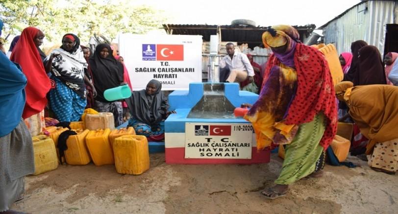 Deniz Feneri'nden Somali'de İçme Suyu Kuyuları
