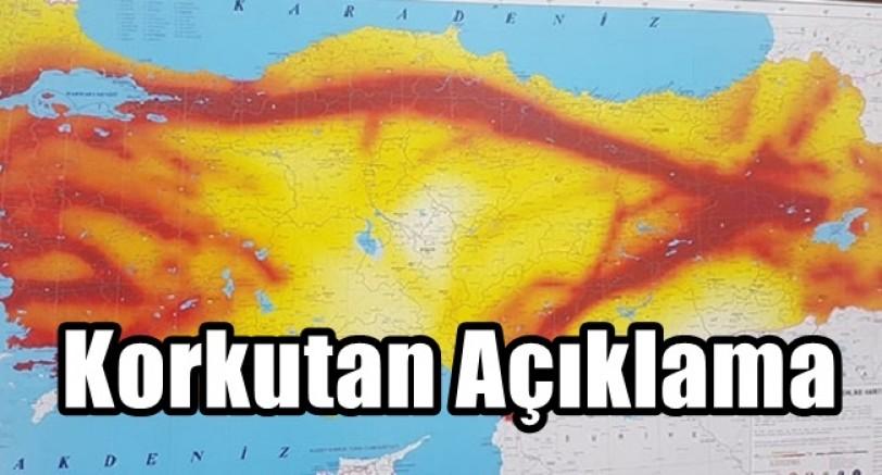 Deprem Uzmanından Korkutan Açıklama