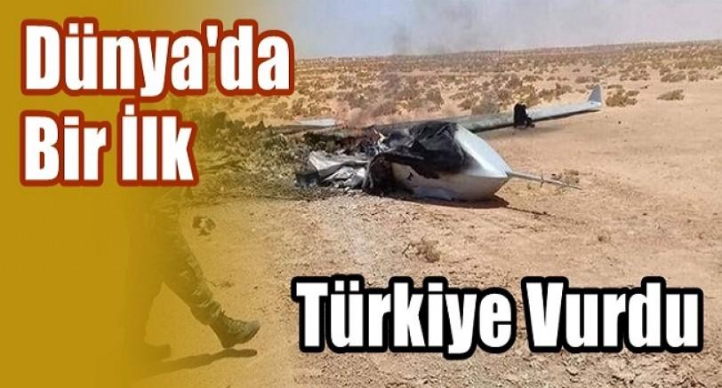 Dünya'da Bir İlk Türkiye Vurdu