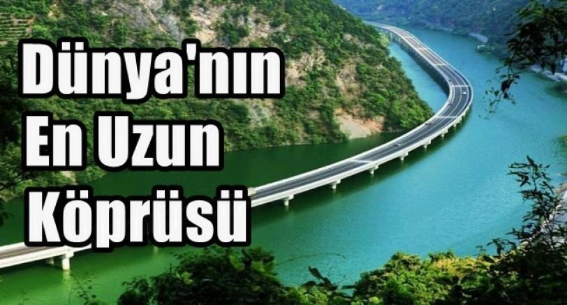 Dünya'nın En Uzun Deniz Köprüsü Açıldı