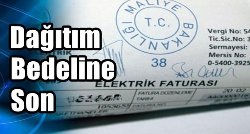 Elektrik Dağıtım Bedeline Son