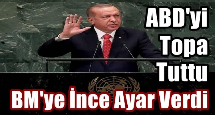 Erdoğan BMGK'nda ABD'yi Topa Tuttu