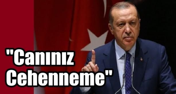 Erdoğan'dan Çok Sert Uyarı