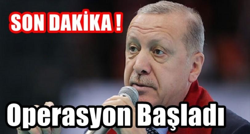 Erdoğan'dan Sınır Ötesi Operasyon Açıklaması
