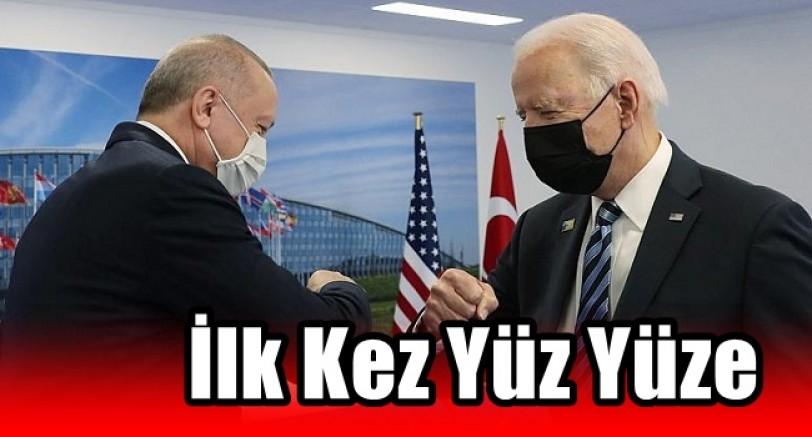 Erdoğan ve Biden İlk Kez Yüz Yüze Görüştü