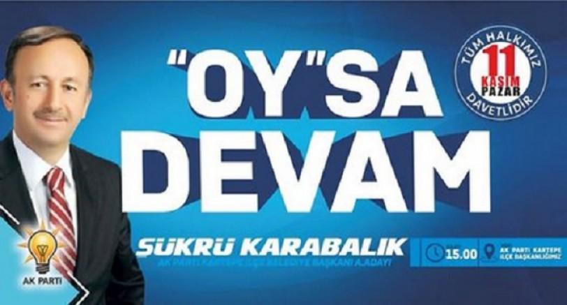 Eski Başkan Yeni Sloganla Aday Oluyor