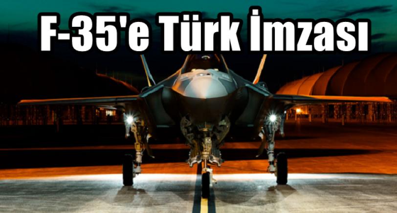 F-35'e Türk İmzası