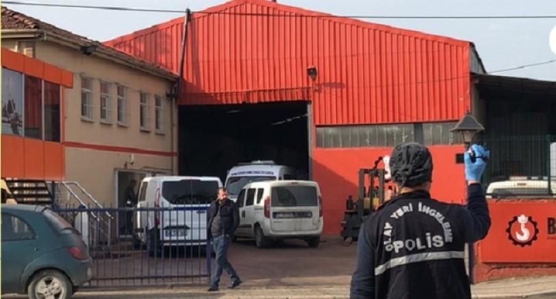 Fabrikanın Çatısından Düşen İşçi Öldü