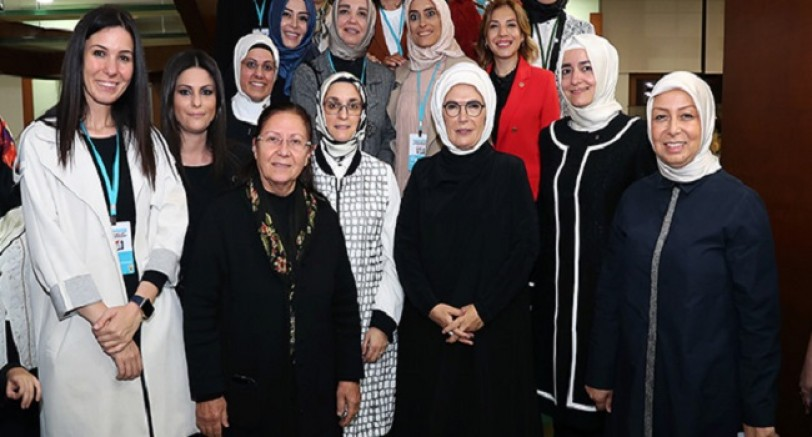 First Lady Ak Kadınlarla Buluştu
