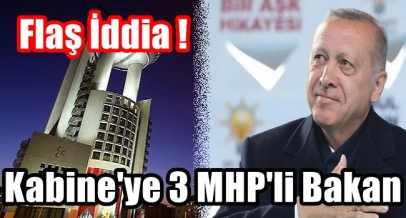 Flaş İddia Kabineye 3 MHP'li Bakan Girecek