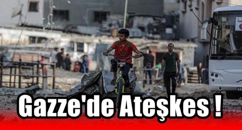Gazze'de Ateşkes Kararı Alındı