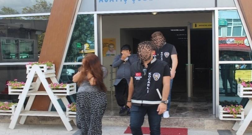 Hamile Hırsızlar Tutuklandı