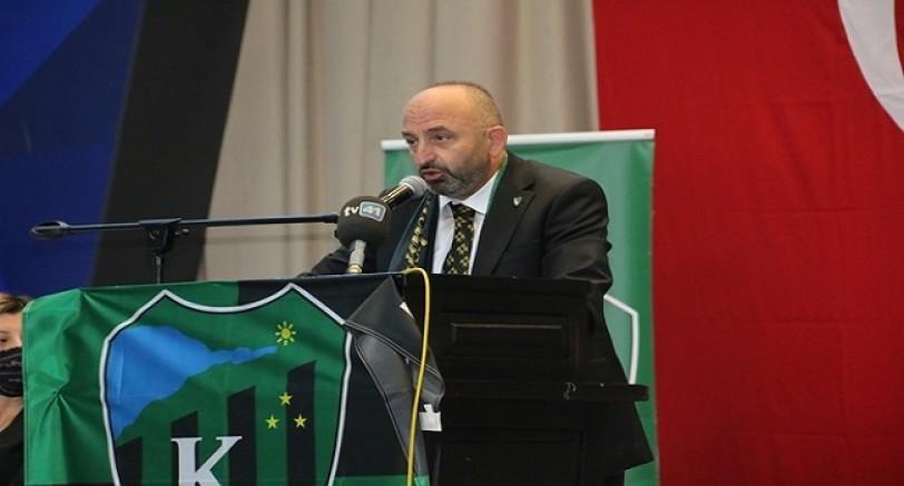 Hüseyin Üzülmez 2. Kez Kocaelispor Başkanı Seçildi